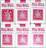 -Sealed- Vintage -PALL MALL- Cigarette Pack Lot - NOS