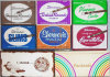 -NOS- Vintage -Sherman's- Flat Cigarette Box Pack Lot - Full!