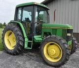 1996 JOHN DEERE 6400 C15 1996 JD 6400, MFWD, 4,731.7hrs, runs & drives good, cab, heat & air, 2 hydr