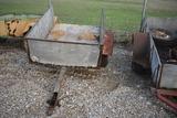 Trailer Trailer C180 Single axle metal side boarded trailer