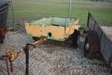 Trailer Trailer C181 Single axle metal side boarded trailer