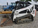 2016 BOBCAT T650 C19 2016 Bobcat T650 track skidsteer, 3,120 hrs, 2 speed aux hydraulics, Hydraulic