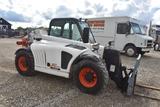 2011 BOBCAT V417 C245 2011 Bobcat V417 telehandler, 17ft reach, 4 wheel steer, 14-17.5 Mitas tires,
