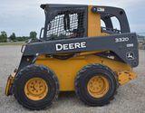 2011 DEERE 332D C30 2011 JD 332 w/ only 1,924 hrs, runs & drives good, hydraulic quick-tach, aux hyd