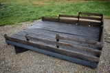 Truck bed Flatbed C42 Flatbed stake side truck bed