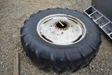 Tire Goodyear C44 (1) Goodyear 18.4-34 tire & rim