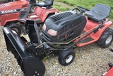 Garden tractor Garden tractor C56 Garden tractor 17.5 hp, with snow blower