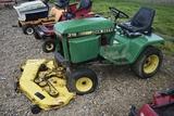 JOHN DEERE 316 C59 JD 316 riding garden tractor