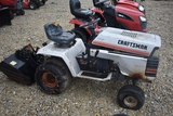 Craftsman garden tractor C70 Craftsman 16hp garden tractor w/ sears rear tiller