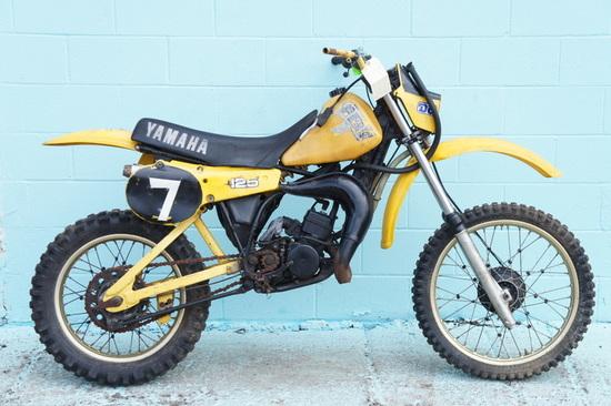 1981 Yamaha YZ125
