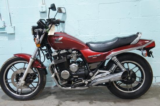 1985 Honda CB650SC Nighthawk