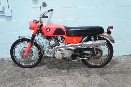 1968 Honda CL160