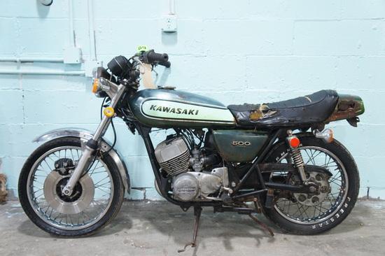 1973 Kawasaki H1