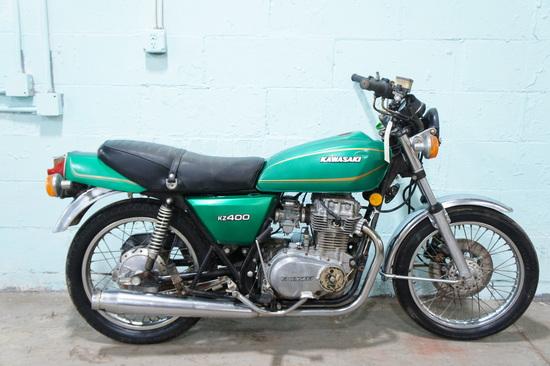 1978 KAWASAKI KZ400