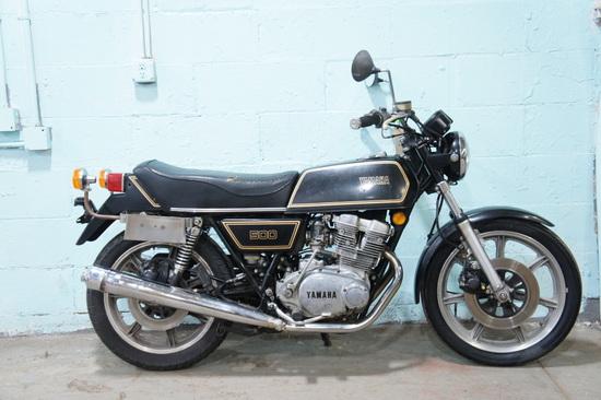 1976 YAMAHA TX500