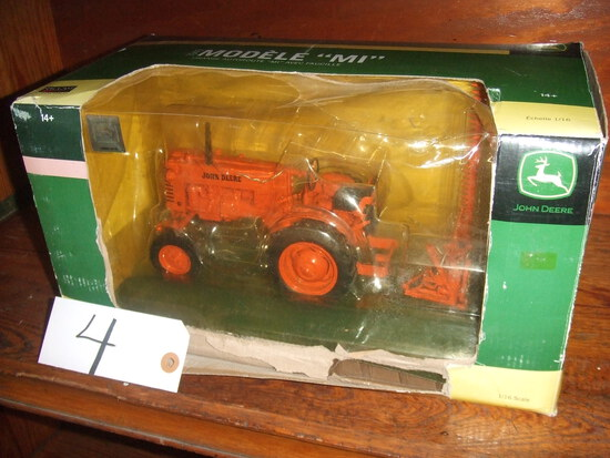 """1949 MODEL """"MI"""" TRACTOR WITH SICKLE MOWER"""