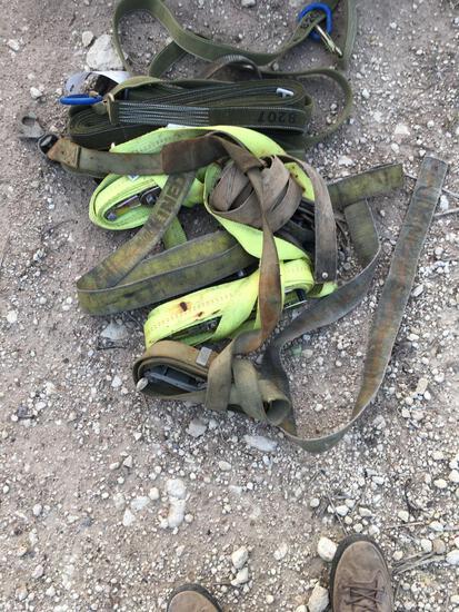 Assorted Tie Down Straps
