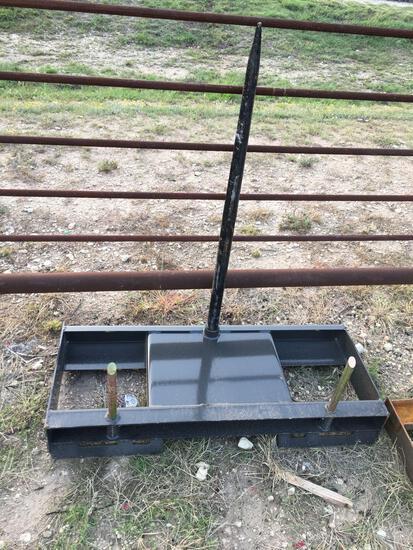 New CID Skid Steer Hay Spear
