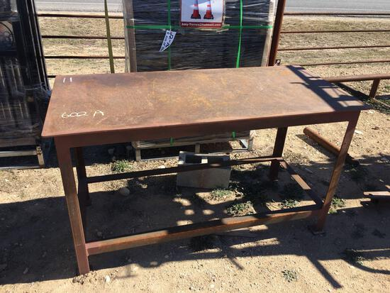 "Welding Table 20""X60"""