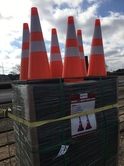 50 New Traffic Cones 50 TIMES THE MONEY MUST TAKE ALL