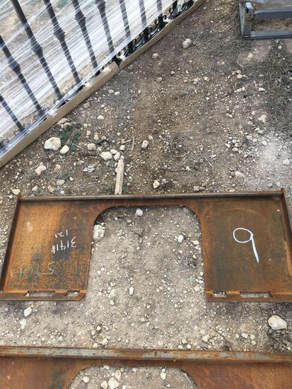 New Skid Steer Mounting Plates