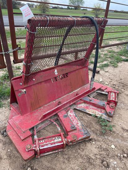 """12"""" Vassar Tree Shear for Skid Steer"""