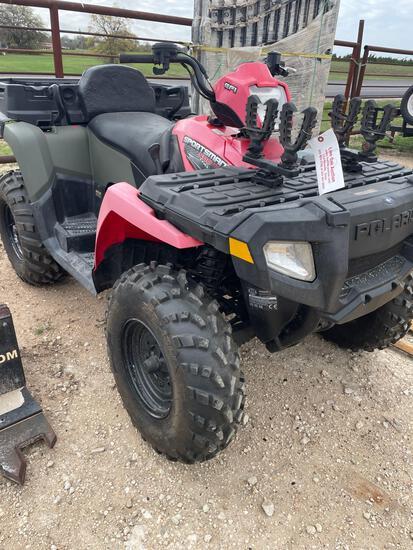 Polaris Sportsman 500X2-EFI 180 HRS 4WD VIN 51280 Title, $25 Fee ...