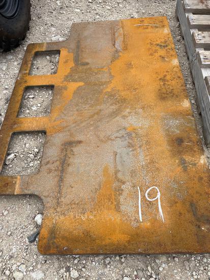 Heavy Duty Skid Steer Mounting Plate
