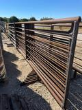 10 - 24' Freestanding Cattle Panels with One 10' Gate TEN TIMES THE MONEY MUST TAKE ALL