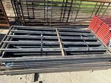 10' 6 Rail Gate with Weld on Hinges... Sell one per lot