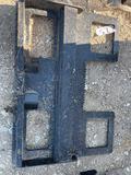 Unused Skid Steer Pallet Fork Plate