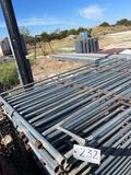 25 - 10' Galvanized Portable Panels 25 TIMES THE MONEY MUST TAKE ALL