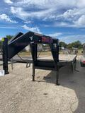 2019 Neckover...102 x 40' Tandem Dual Trailer with...Dovetail and Mega Ramps 2 x 10K axles Vin 26382