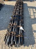 50 Pieces of 10' Decorative...Barbed Wire Sell by the bundle...