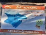 200# Cast Iron Anvil