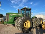 John Deere 9520 Tractor New Active Seat-- shows 7xx hours on new tach, owner stated approx 8700