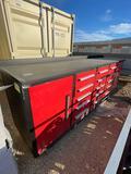 New Workbench 10' 15 drawer & 2 doors