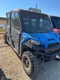 Polaris Ranger 1000XP Crew Cab/Air/Heat Tinted Windows Shows 5025 Miles