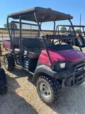 2007 Kawasaki Mule 4WD w/ Sound System Showing 1201 HRS