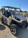 2012 Kawasaki Trex Light Bar Winch Comes with 4 Original Tires/Wheels and Factory Suspension...
