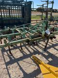 9' JD Field Cultivator with Harrows