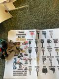 Heavy Equipment Key Set 24 Keys... One Money