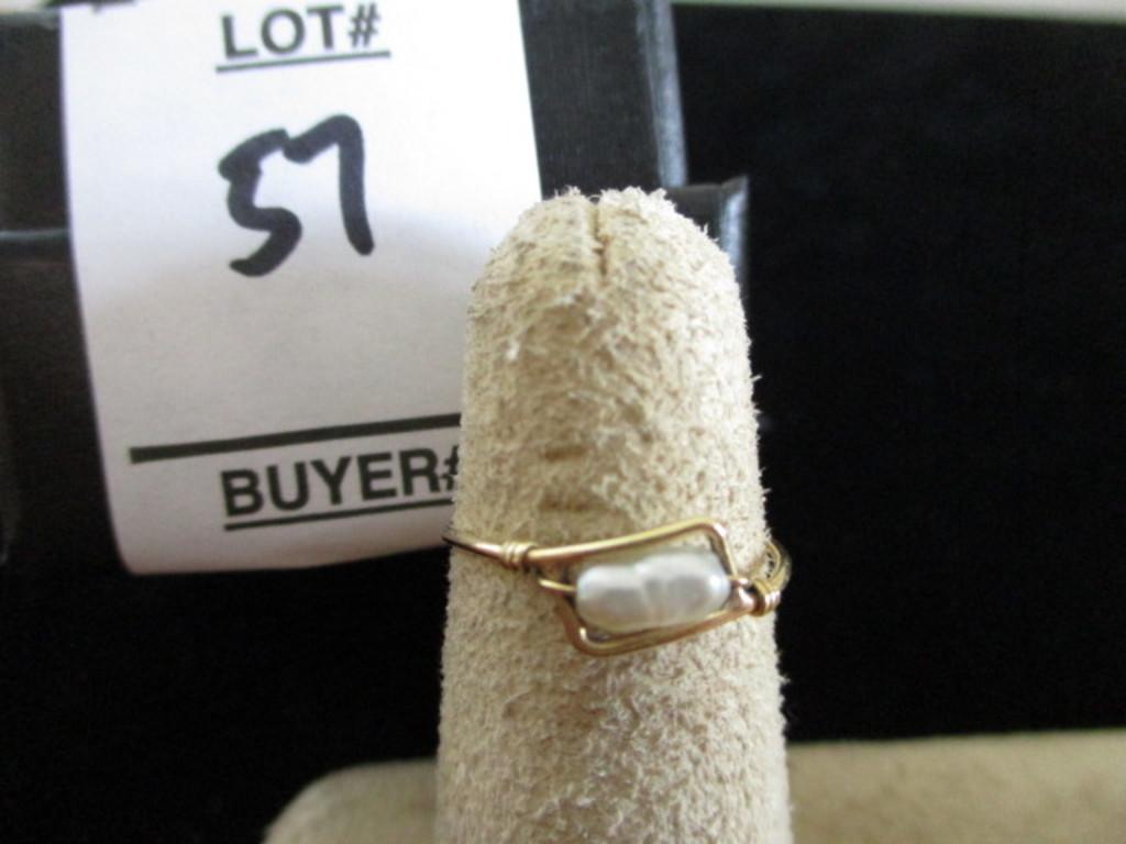 Size 4 1/2 ring 14K