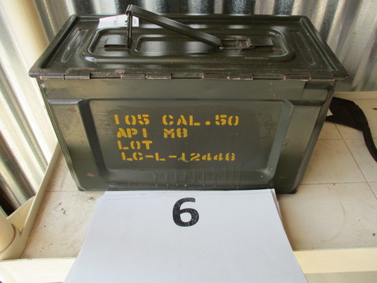 50 caliber Ammo can