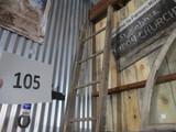 10Ft wooden ladder