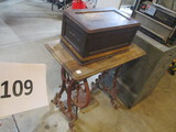 Treadle sewing machine stand