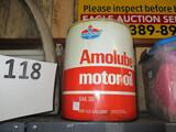Amoco oil can