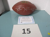 NFL football Autographed by Hunter Hillenmeyer