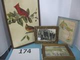 vintage photo and print frames