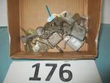 vintage lock and keys